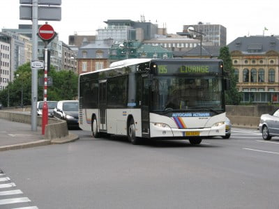 Autobús de Luxemburgo
