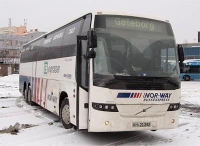 Autobús de Noruega