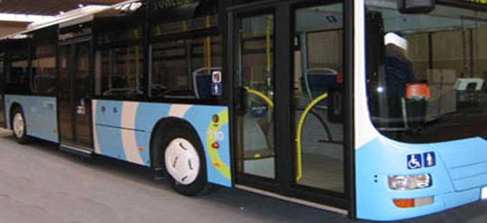 Autobús de Santander