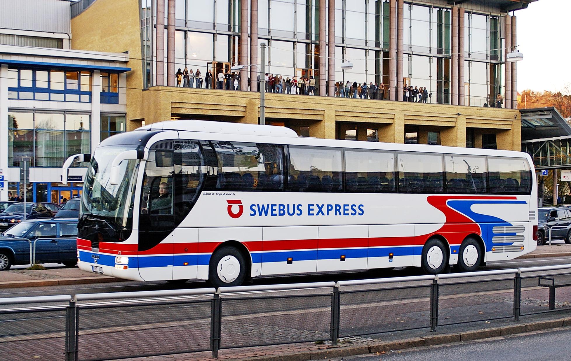 Autobus de Suecia