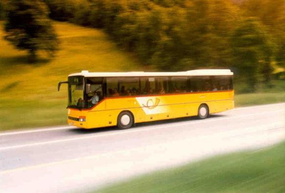Autobús de Suiza