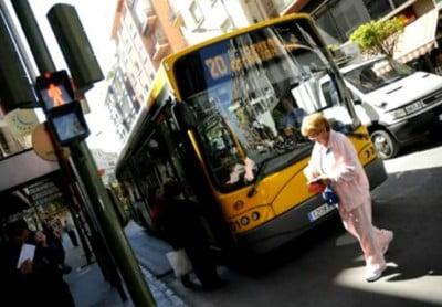 Autobús urbano de Jaén