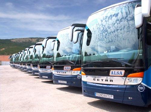 Autobuses a Galicia