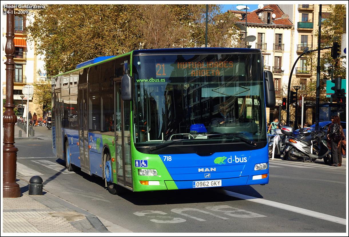 Autobuses de San Sebastián