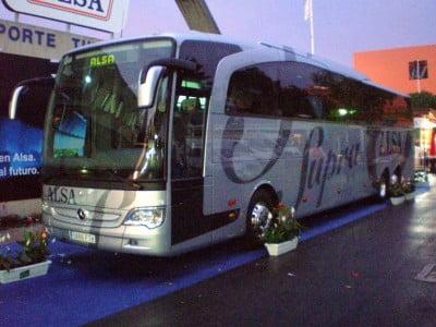 Autobuses en Galicia