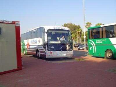 Autobuses en Huelva