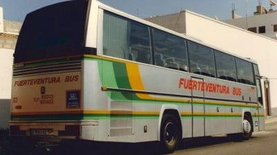 Autobuses, Fuerteventura