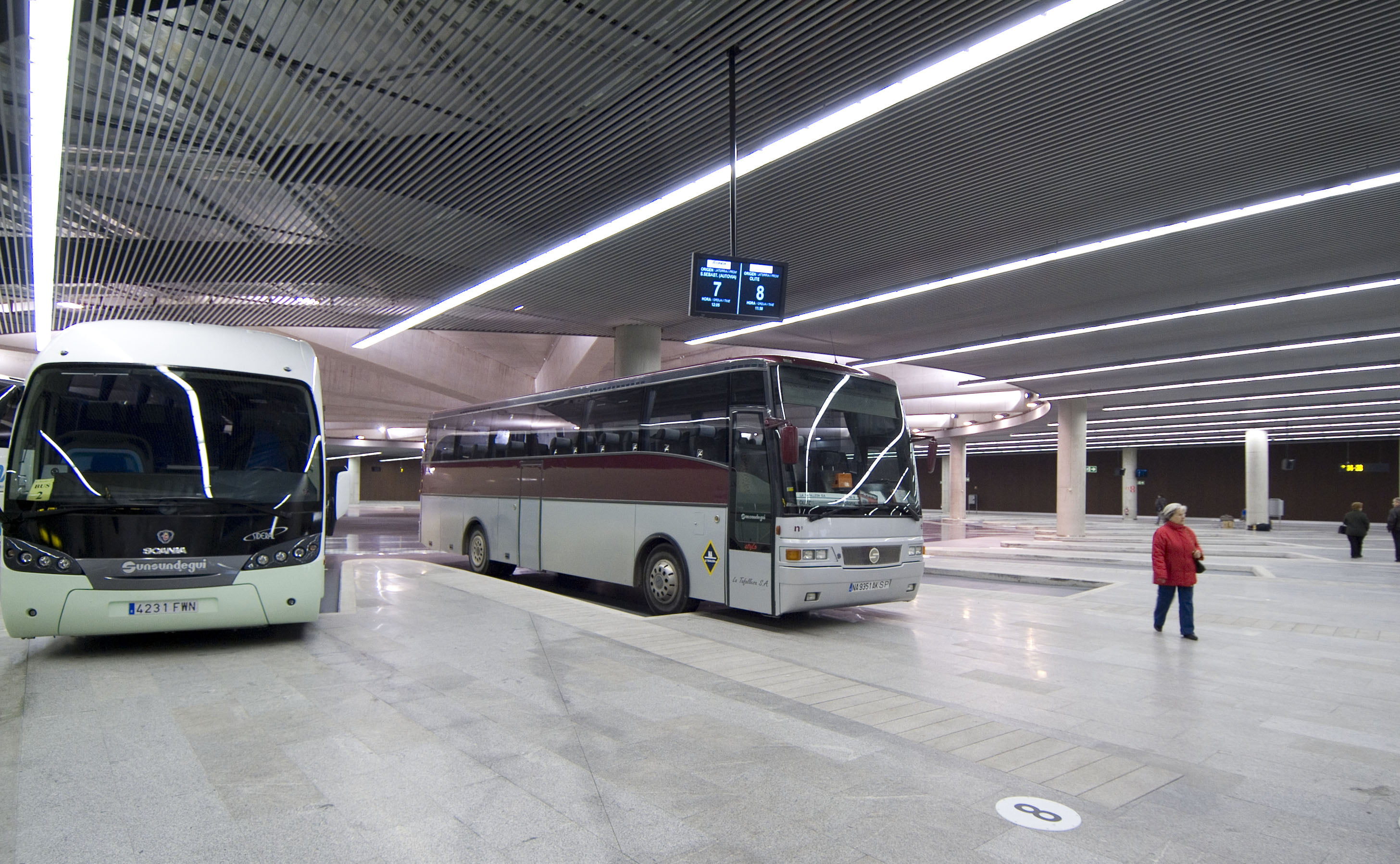Autobuses en Pamplona