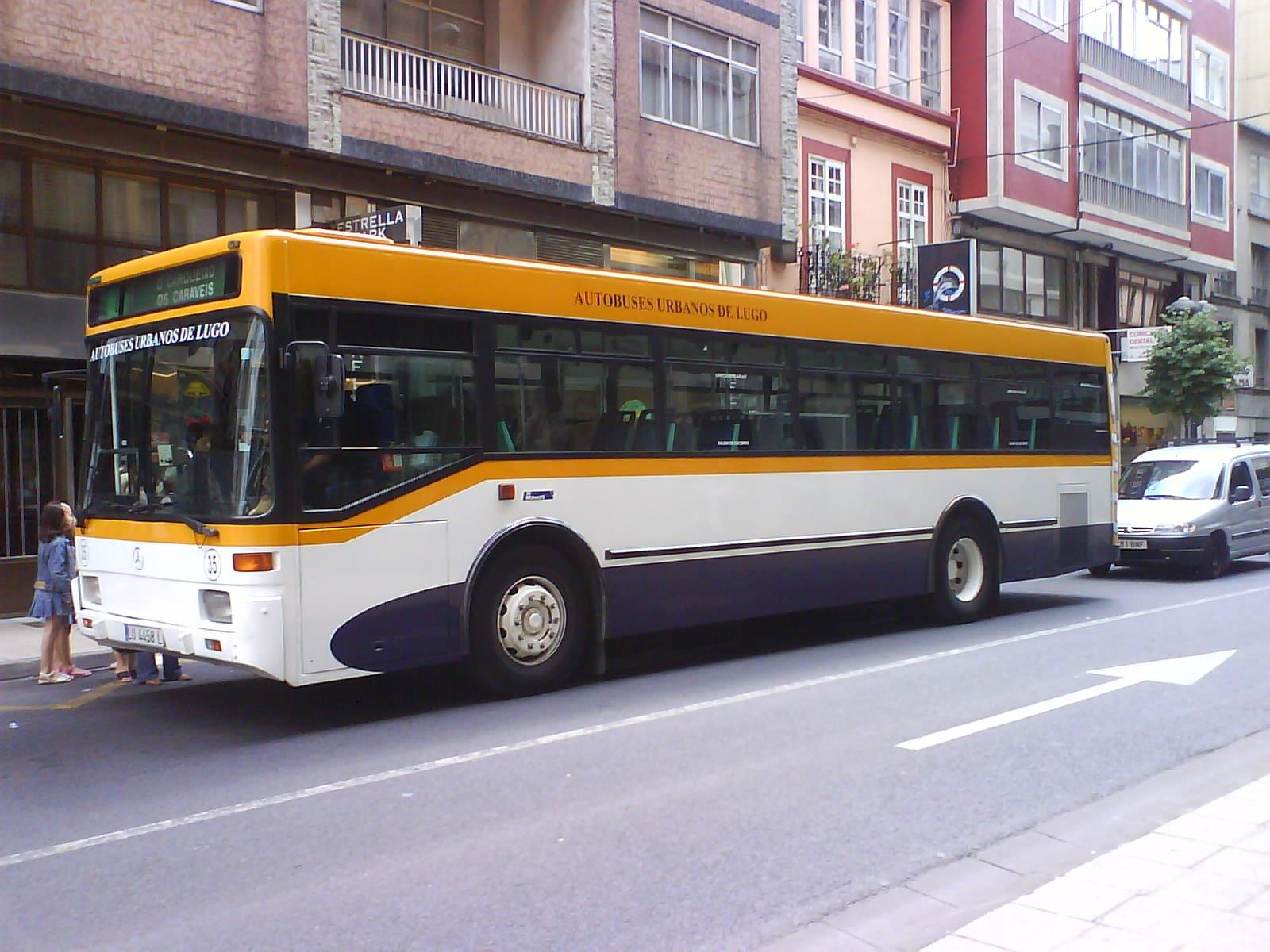 Autobuses urbanos de Lugo