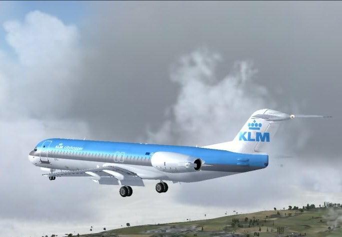 Avión a Málaga