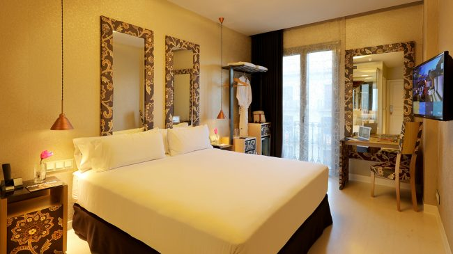 Premium room at Axel Hotel Barcelona