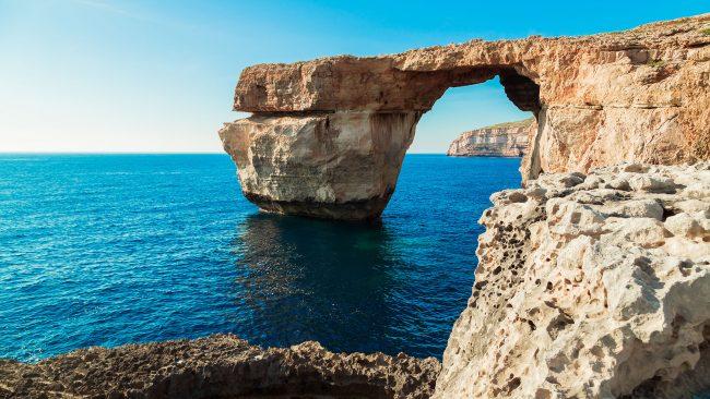 Azure Window Gozo uhartean