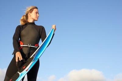 Bañadores para hacer surf  mujer surf