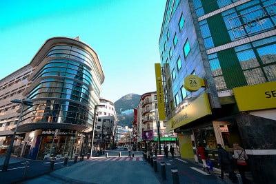 Banca en Andorra la Vieja