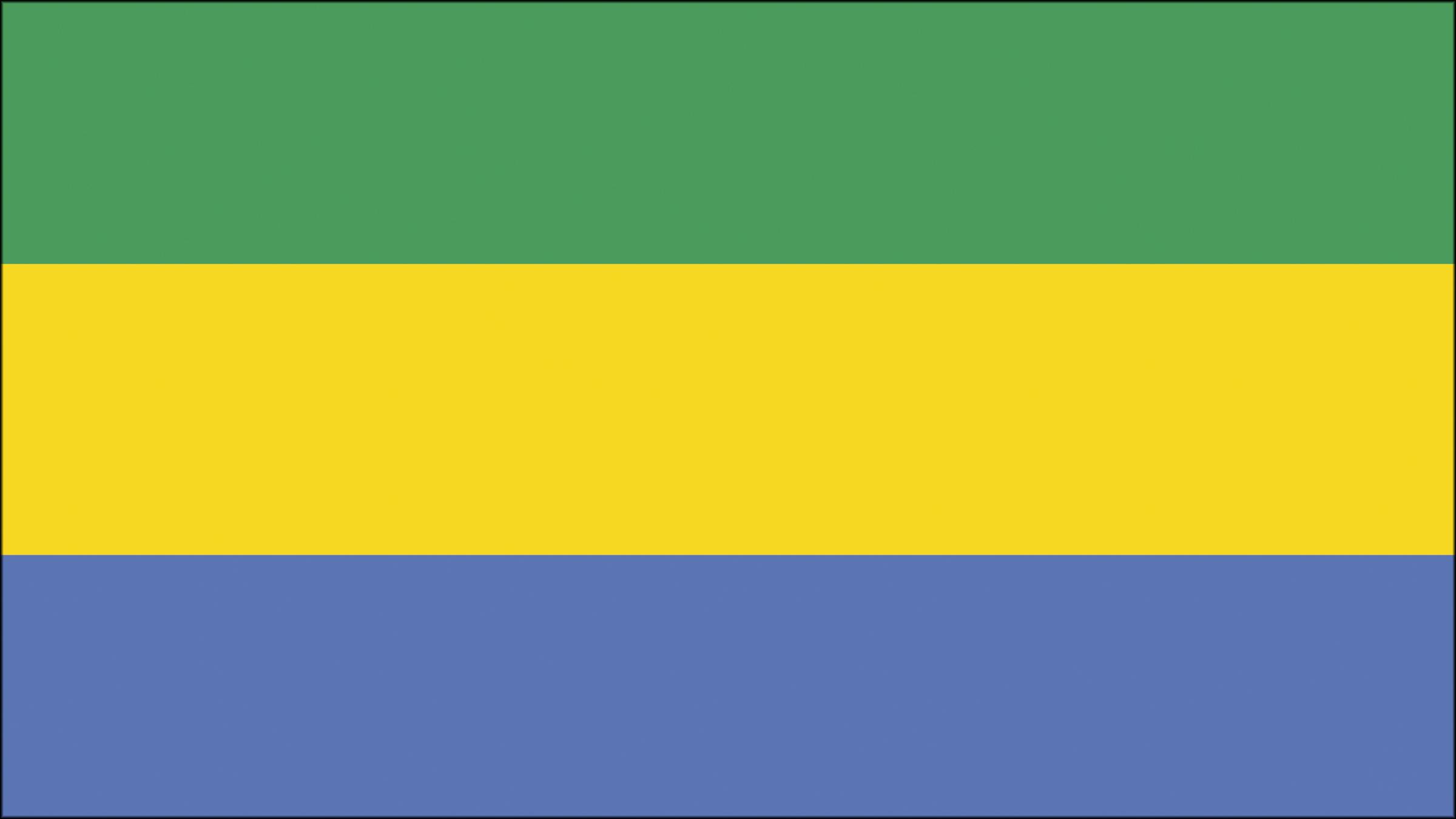 Bandera De Gabón