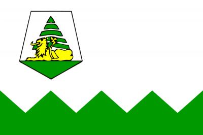 Bandera de Marruecos provincia de Ifrane