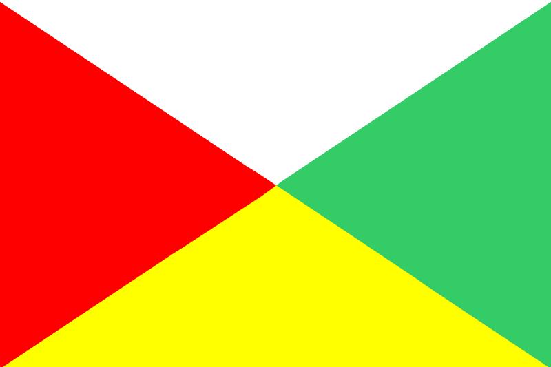 Bandera de Marruecos provincia de Laayoune