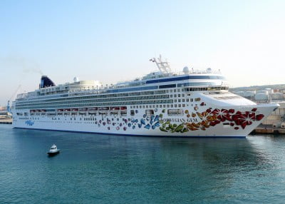 Barco a Civitavecchia
