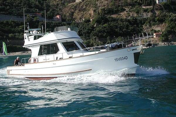 Barco en Formentera
