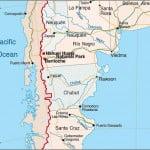 Mapa de San Carlos de Bariloche - Chile