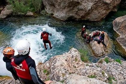 barranquismo por Cuenca