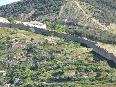 Barrio de Sacromonte en Granada