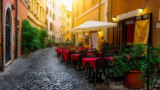 Trastevere Nachbarschaft, Rom