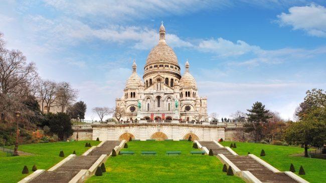 Basílica del Sagrado Corazón en Montmartre, París
