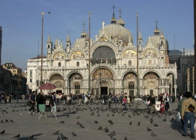 Basílica y Plaza San Marco