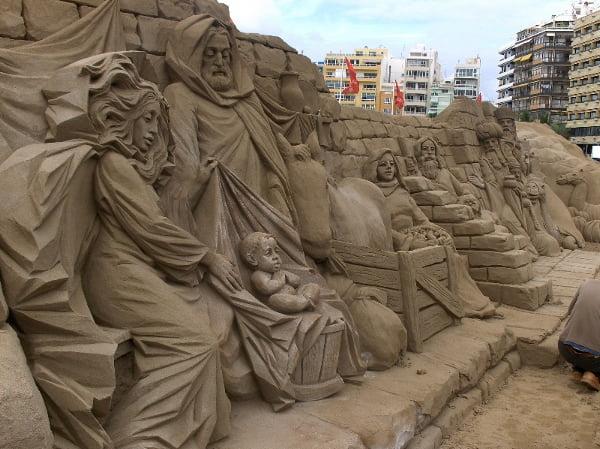 Belén playa de las Canteras