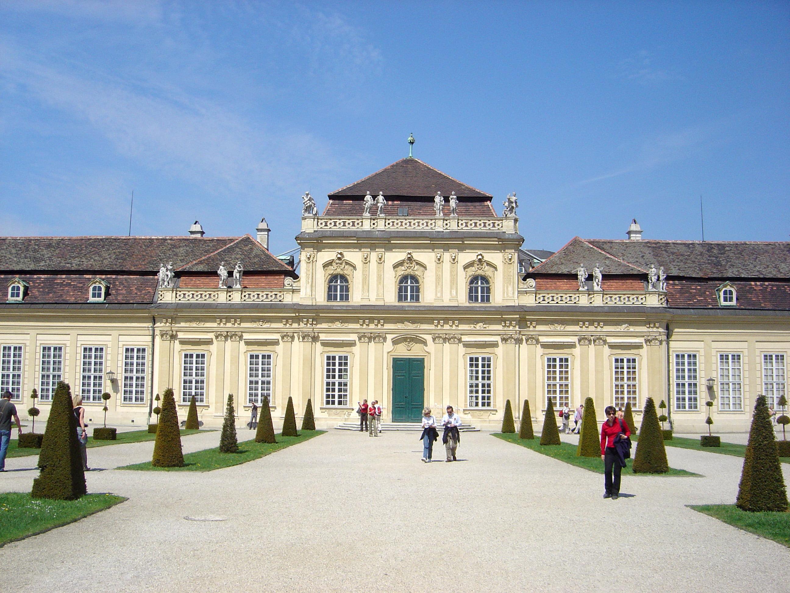 Belvedere en Viena