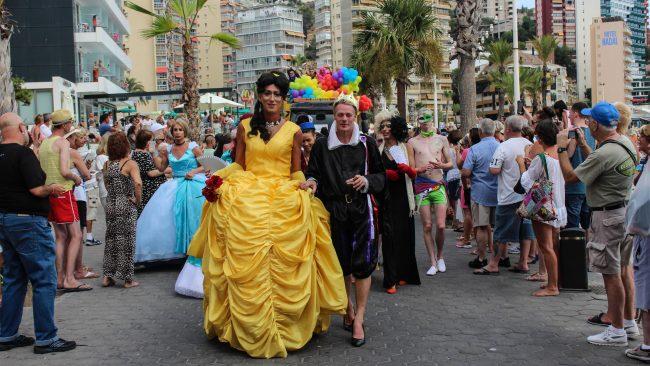 Desfile do Orgullo de Benidorm