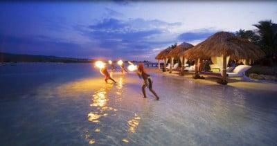 bienvenida a los resorts de la polinesia francesa