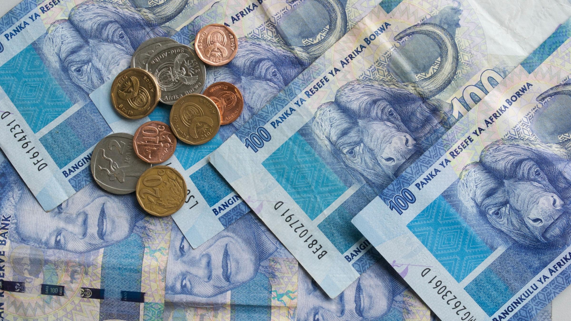 Billete de Sudáfrica