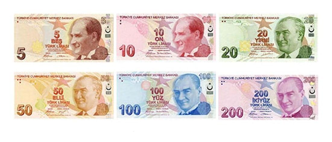 Moneda – Turquía