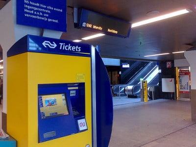Billetes de tren en Ámsterdam