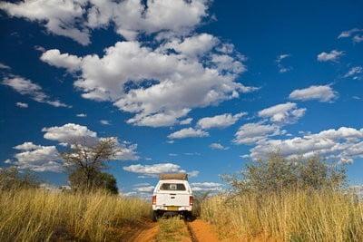 Botsuana, África pradera