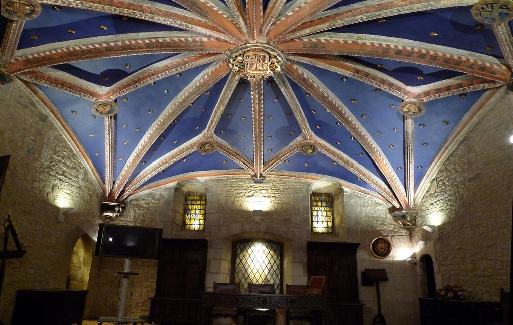 Bóveda de la Casa del Cordón de Vitoria