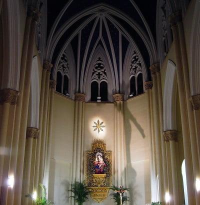 Bóveda de la Iglesia de la Milagrosa