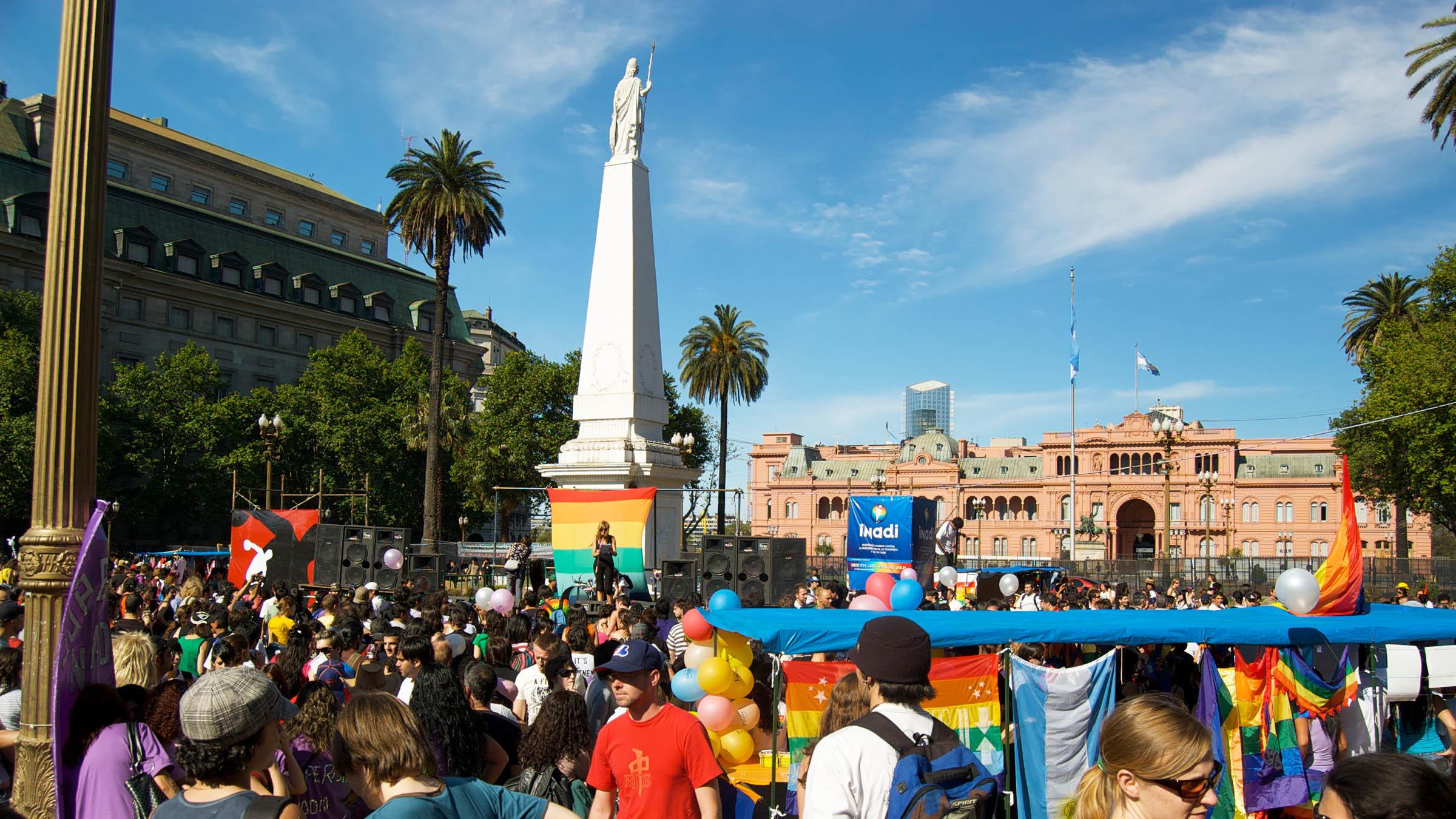 Buenos Aires es destino del sector gay
