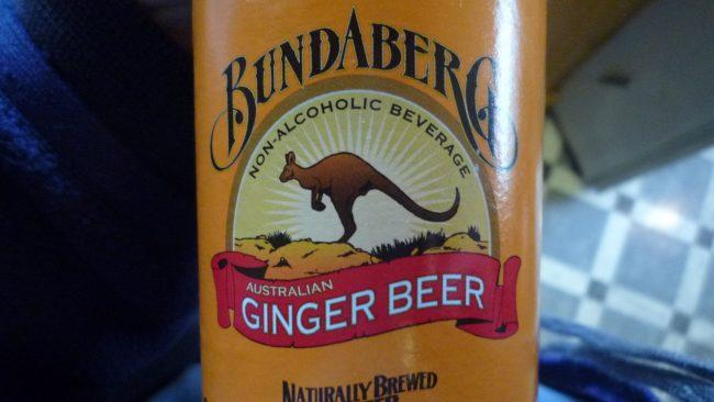 Bundaberg, la cerveza de jengibre de Australia