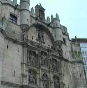 Burgos el Arco de Santa María