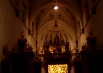 Burgos interior de la Cartuja de Miraflores
