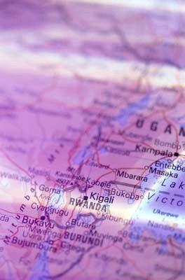 Burundi, mapa muestra