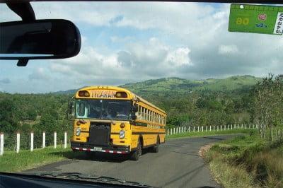 Autobús reciclado