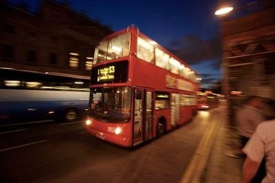 Bus en Londres el bus rojo