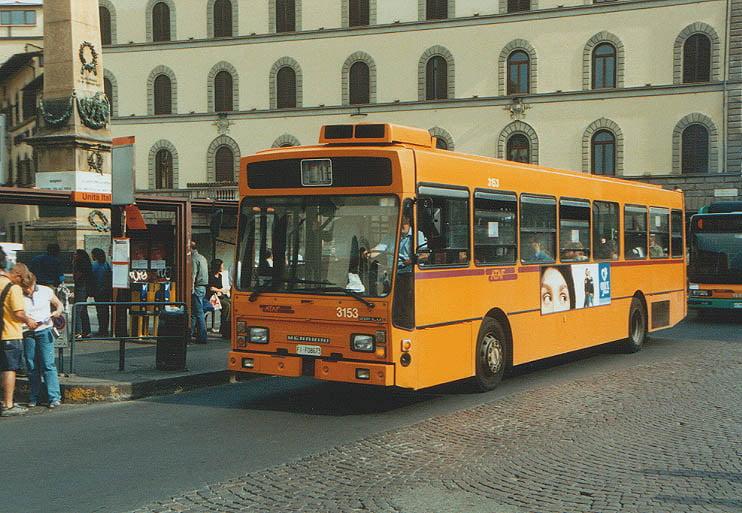 Bus urbano de Florencia