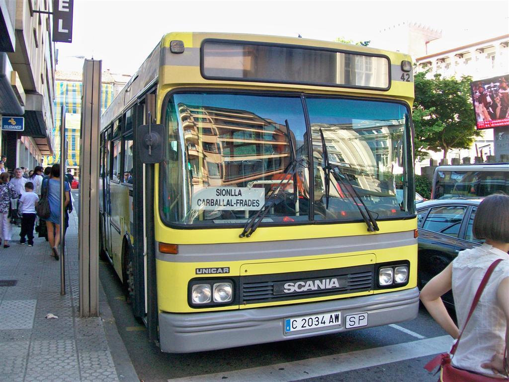 Bus urbano, Santiago de Compostela