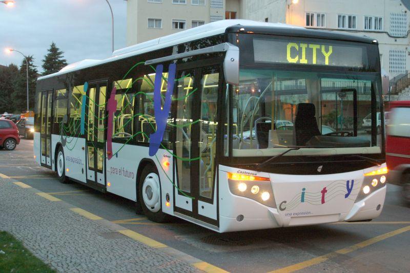 Buses, Santiago de Compostela