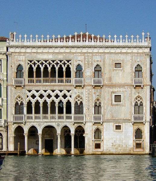 Ca'd'Oro en Venecia
